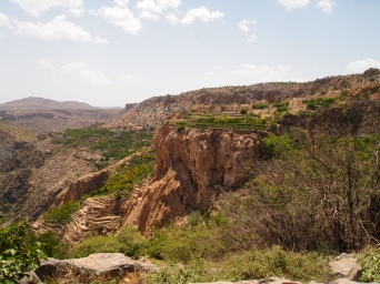 The village of Al Ayn on Jebel Akhdar