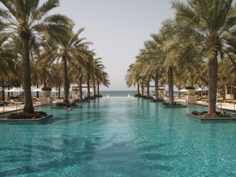 to infinity and beyond! Al Bustan Hotel in Muscat, Oman