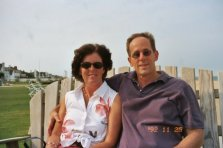 me and Mike in Virginia Beach, 2004