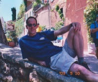 Mike in Provence. Rousillon, France