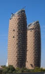 interesting towers along the road