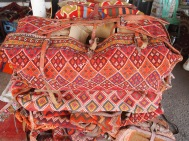textiles at the Iranian souq