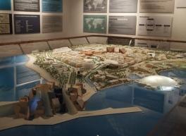 the model for Saadiyat Island Cultural District