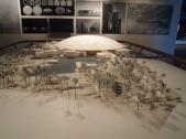 model for Louvre Abu Dhabi
