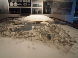 model for Louvre Abu Dhabi