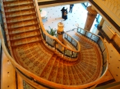 staircase at Emirates Palace