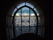 window at Emirate Palace