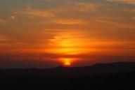 sunset at the sahab