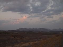 mountains near Izki
