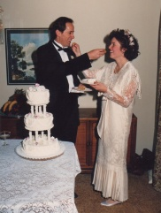 our wedding day, November 13, 1988