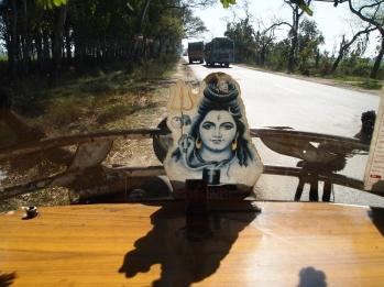 auto-rickshaw near Chandigarh, India