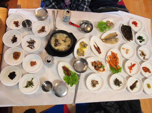 circles & circles (& ovals) of Korean food