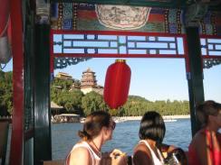 dragon boat at the Summer Palace in Beijing, China