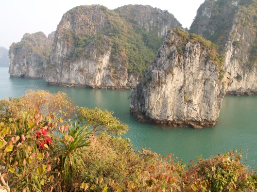 karsts at Halong Bay, Vietnam