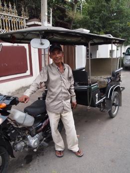 auto-rickshaw in Phnom Penh, Cambodia