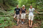 near Deep Creek Lake, Maryland, USA (Alex, me and Adam)