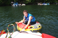Adam at Deep Creek Lake, MD