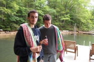 Alx and Adam at Deep Creek Lake, MD