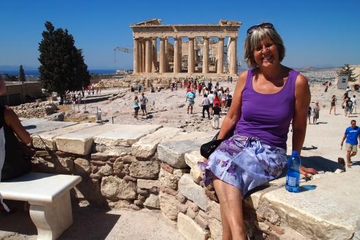 the Acropolis, Athens, Greece