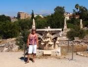 me at the Agora, Athens, Greece