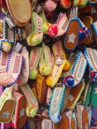 these shoes are made for walking...Rethymno, Crete, Greece