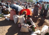 Saturday market at Lalibela, Ethiopia