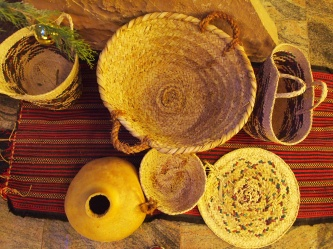 traditional baskets and pottery