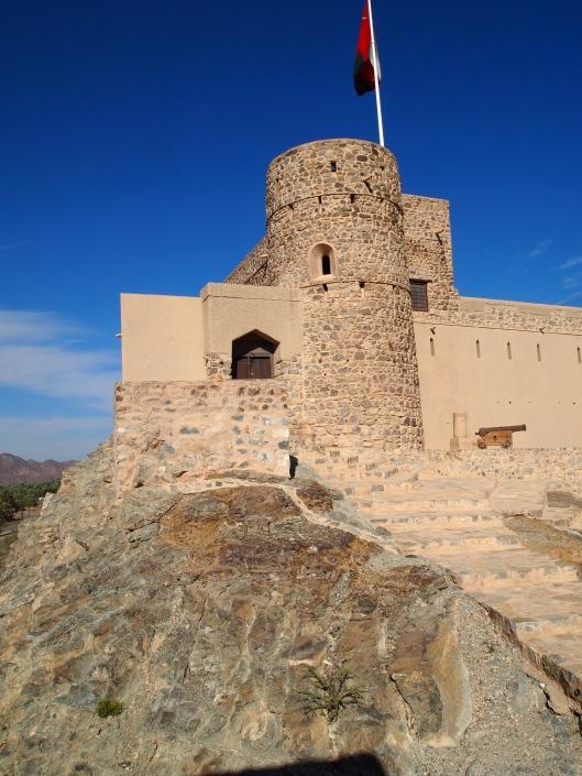 Bait Al Khabib is built on a foundation of rock