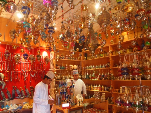 a new lantern shop at Nizwa souq.  I would love one of these.... :-)