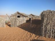 Barasti huts