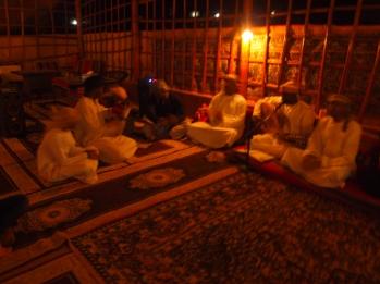 Bedouin singers