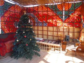 a Chirstmas tree at Al Areesh