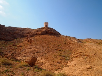 the watchtower in Sur