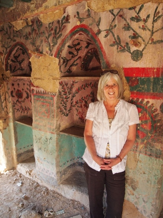 me in the painted house in the first village