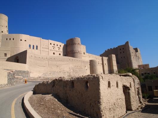 Entering Bahla Fort