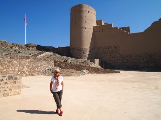 me insdie Bahla Fort
