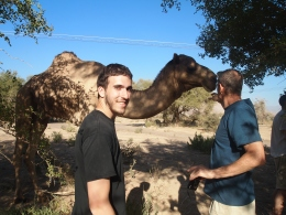 Alex, Mike and Mr. Camel