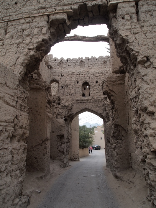 the gate into the Nizwa ruins