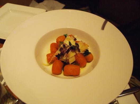 Adam's butternut squash ravioli
