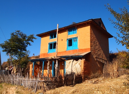 rural home in Nepal