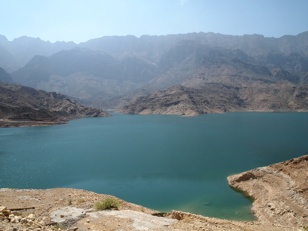 the east coast road trip: wadi dayqah dam & bimmah sinkhole. {part 2} (6/6)
