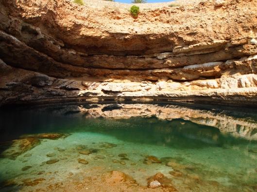 the pool of Bimmah Sinkhole