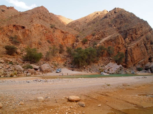 a family picnic in the wadi