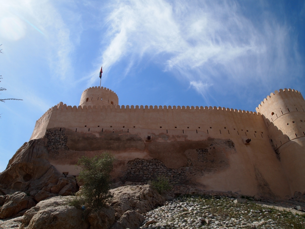 the rustaq loop: nakhal fort & ain a'thawwarah hot springs. {1st stop} (1/6)