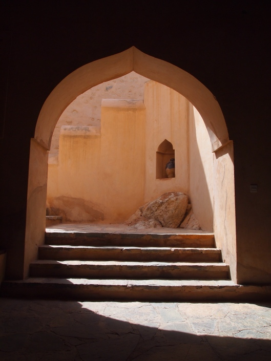 Archway into Nakhal Fort