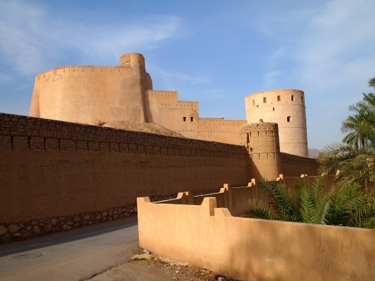 Rustaq Fort from the outside