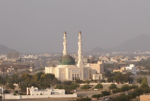 the Rustaq mosque