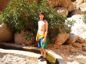 Alex at Wadi Shab