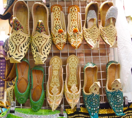 shoes at the souq