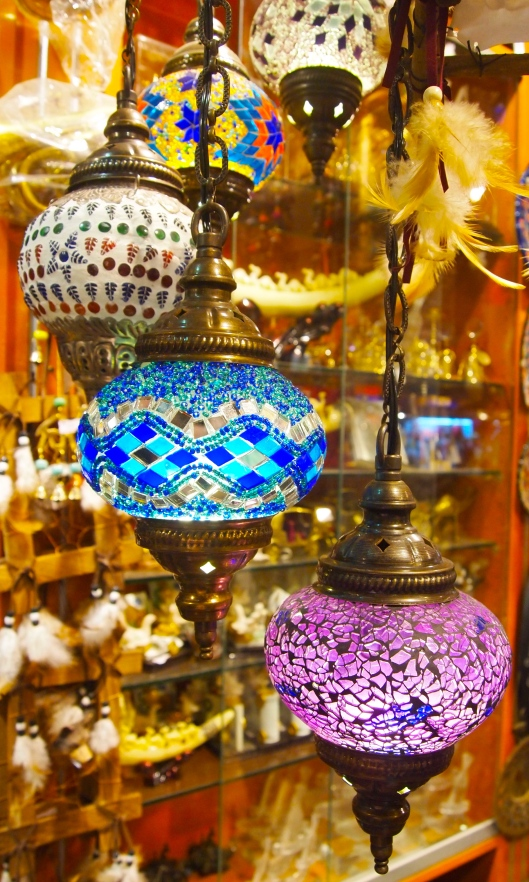 Turkish lamps at Mutrah Souq